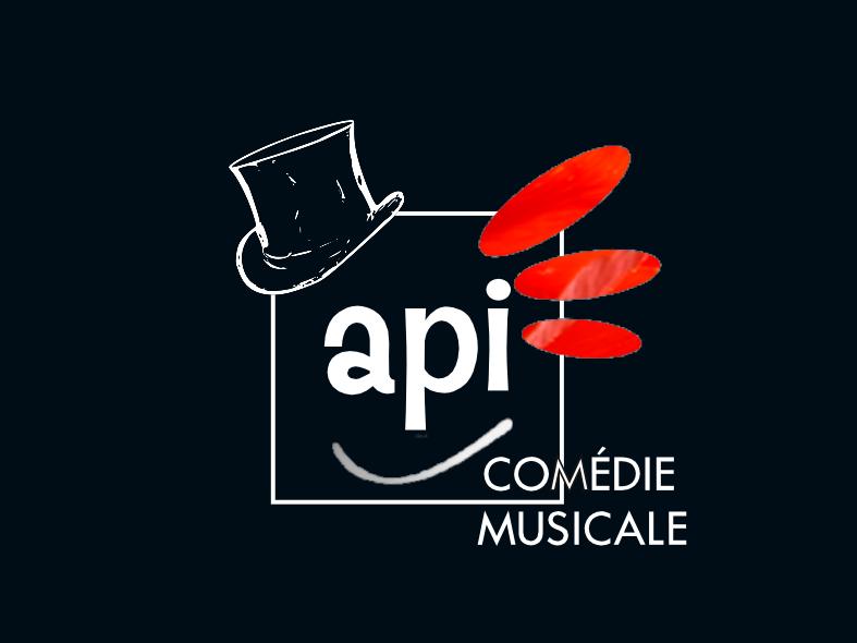 Logo de la formation professionnelle du soir API comédie musicale